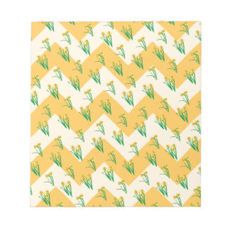 Daffodils Pattern Notepad