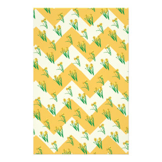 Daffodils Pattern Stationery