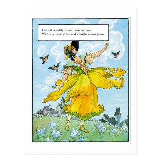 Daffy-Down-Dilly Postcard