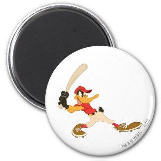 DAFFY DUCK™ Batter's Up 2 Inch Round Magnet