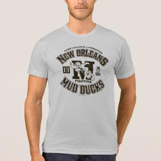 DAFFY DUCK™ New Orleans Mud Ducks Logo 2 T-Shirt