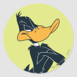 DAFFY DUCK™ with Arms Crossed Round Sticker