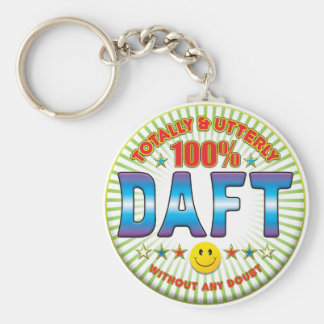 Daft Totally Keychain