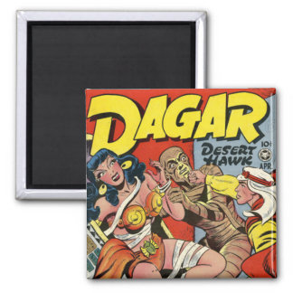 Dagar comic book magnet