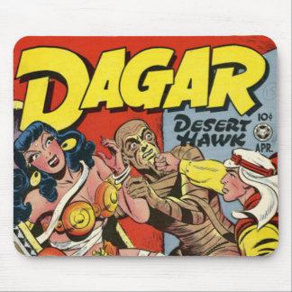 Dagar comic book mouse pad