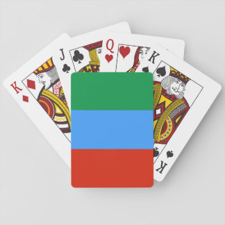 Dagestan Flag Playing Cards