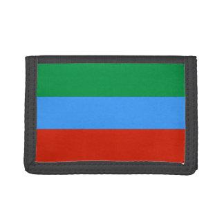 Dagestan Flag Tri-fold Wallet