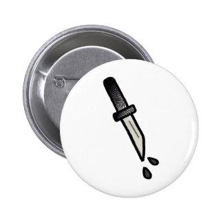 DAGGER // Badge. 2 Inch Round Button