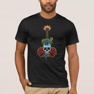 Dagger, Skull, and Roses T-Shirt
