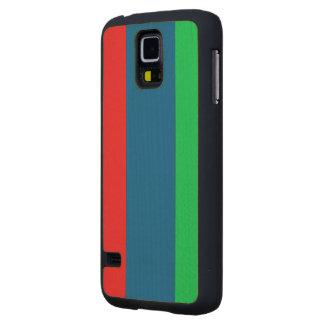 Daghestan Flag Carved® Maple Galaxy S5 Case
