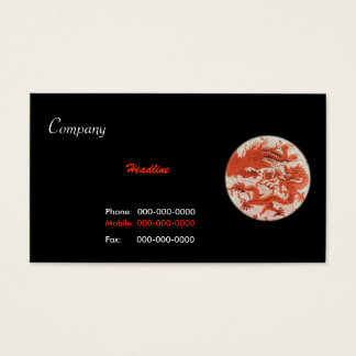 Dagon And Phoenix Business Card