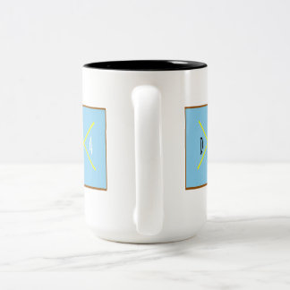DaHaDaHa Two-Tone Coffee Mug