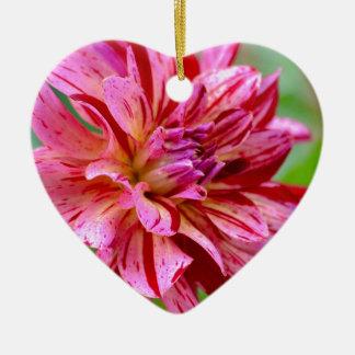 Dahlia Beauty Ceramic Ornament