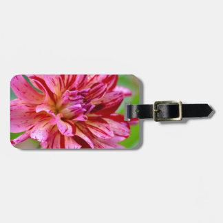 Dahlia Beauty Luggage Tag