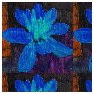 Dahlia bleu tissu