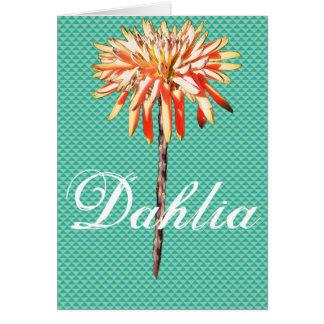 Dahlia Carte De Vœux