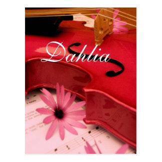 Dahlia Cartes Postales