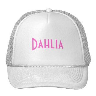 Dahlia Casquettes
