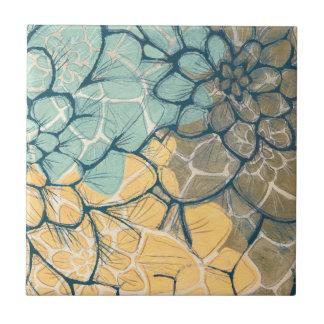 Dahlia Dance I Tiles
