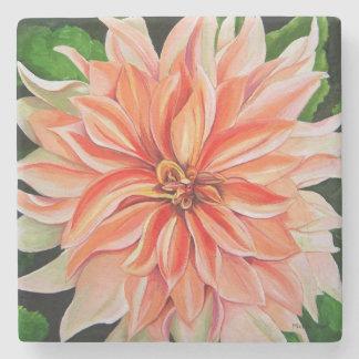 Dahlia Flower Coaster by Michelle Meyer