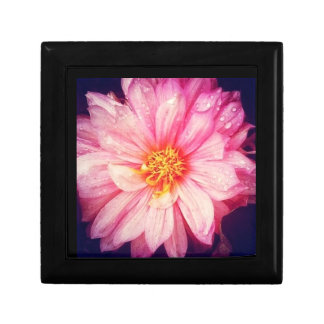 Dahlia Flower Jewellery/Gift Box