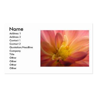 Dahlia Inside Business Card