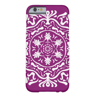 Dahlia Mandala Barely There iPhone 6 Case