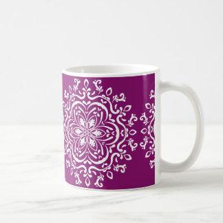 Dahlia Mandala Coffee Mug