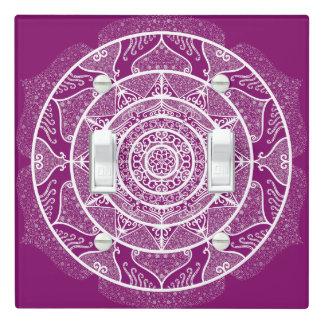 Dahlia Mandala Light Switch Cover