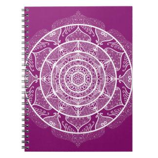 Dahlia Mandala Notebooks