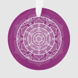 Dahlia Mandala Ornament