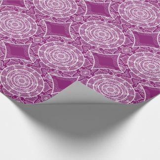 Dahlia Mandala Wrapping Paper