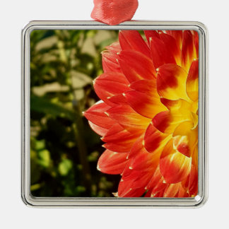 Dahlia Metal Ornament
