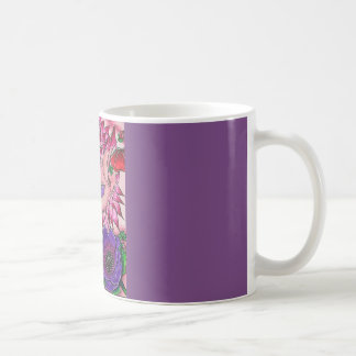 Dahlia Poppy Bat Coffee Mug
