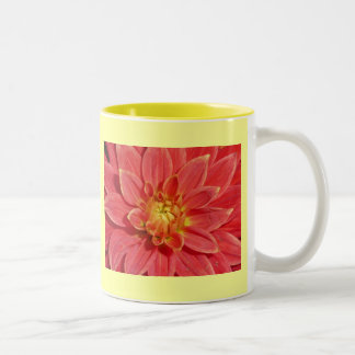 Dahlia Two-Tone Coffee Mug