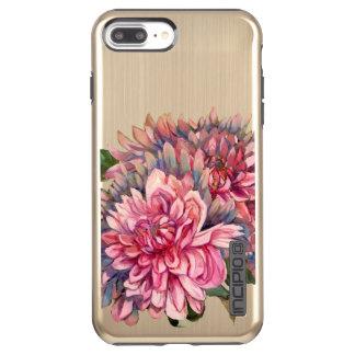 dahlias flowers incipio DualPro shine iPhone 7 plus case