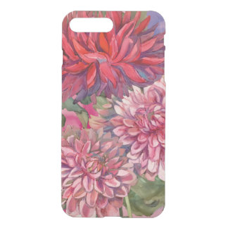 dahlias flowers iPhone 8 plus/7 plus case