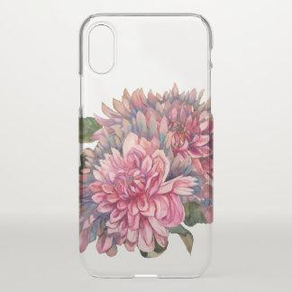dahlias flowers iPhone x case