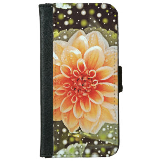 Dahlias iPhone 6 Wallet Case