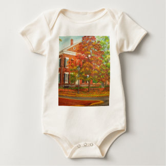 Dahlonega Gold Museum Autumn Colors Baby Bodysuit