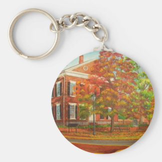 Dahlonega Gold Museum Autumn Colors Basic Round Button Keychain