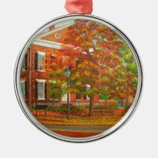 Dahlonega Gold Museum Autumn Colors Metal Ornament