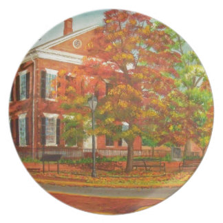 Dahlonega Gold Museum Autumn Colors Plate