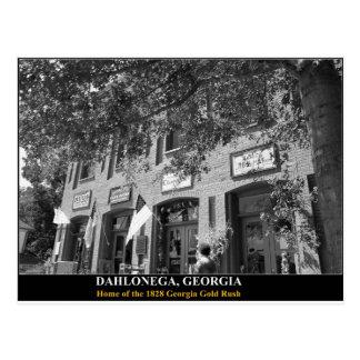 DAHLONEGA - Home of the 1828 Georgia Gold Rush Postcard