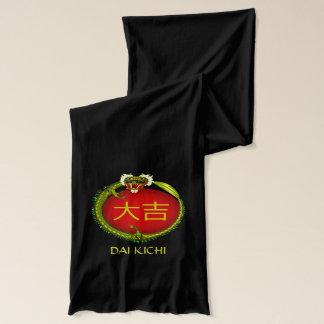 Dai Kichi  Monogram Dragon Scarf