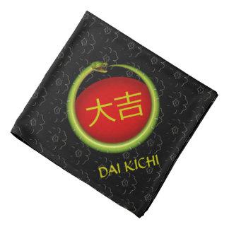 Dai Kichi Monogram Snake Bandana