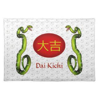 Dai Kichi  Monogram Snake Placemat