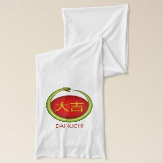 Dai Kichi  Monogram Snake Scarf
