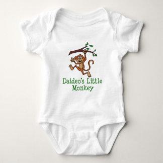 Daideo's Little Monkey Baby Bodysuit