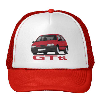 Daihatsu Charade GTti diy - red Trucker Hat